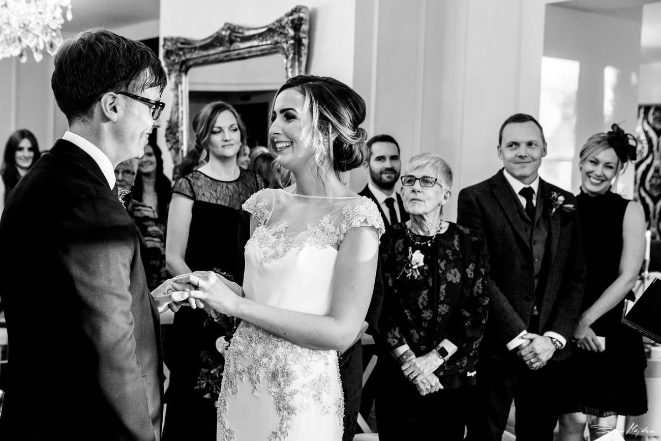 Eve saying wedding vows