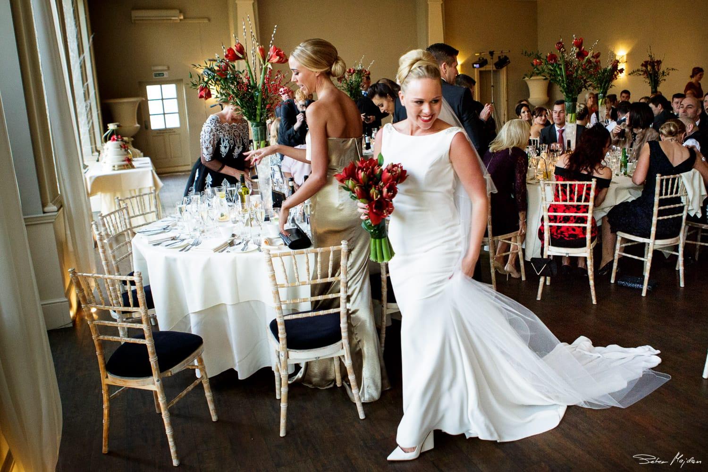bride in Orangery