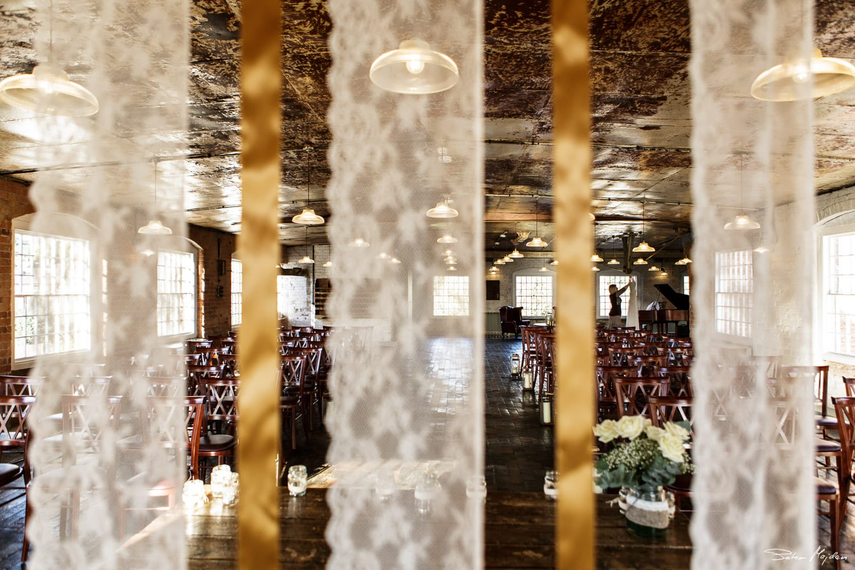 Cotton Room before wedding ceremony