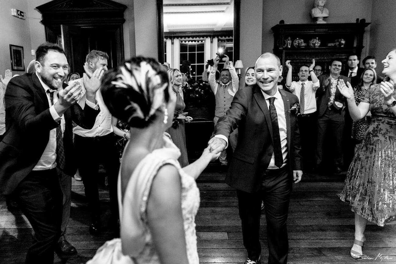 Prestwold Hall wedding photo