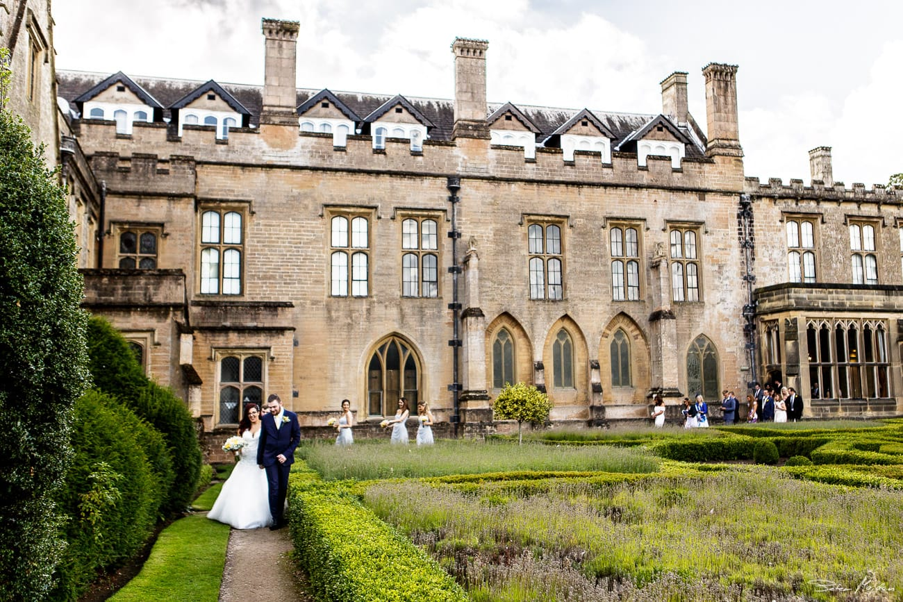 Newstead Abbey wedding photography