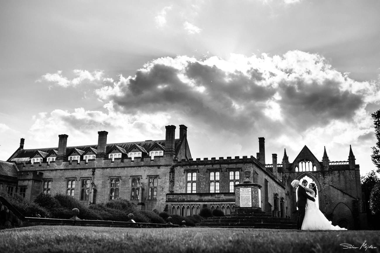 Newstead Abbey wedding photographer