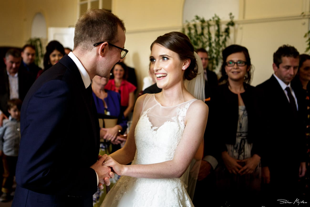 Chatsworth House wedding ceremony