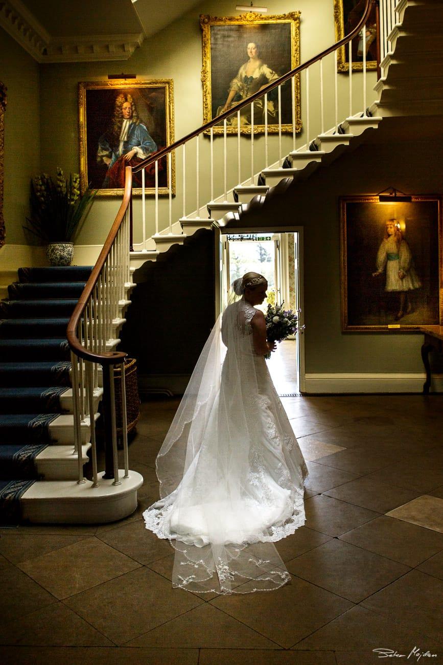 Bride at Norwood Park