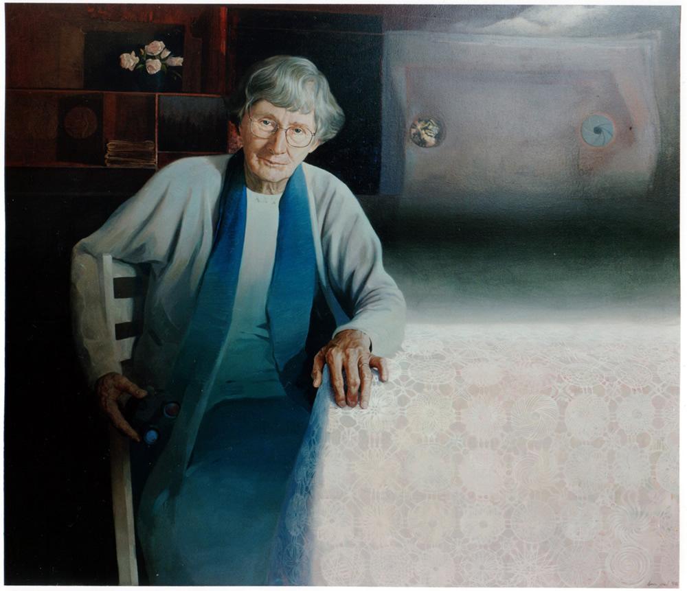 Elizabeth Jolley - 1995 130x160cm