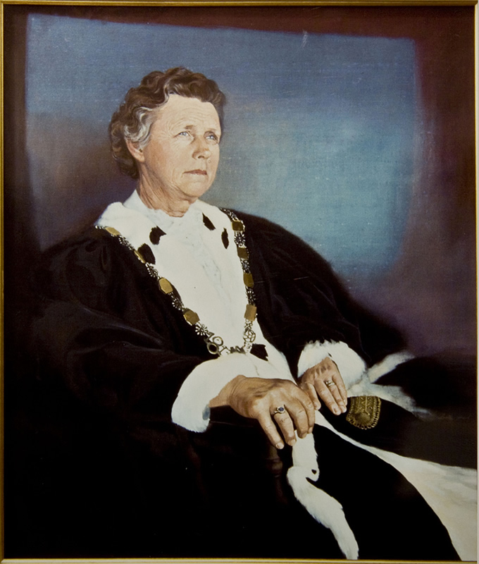 Mayor of Albany - 1985 92x132cm