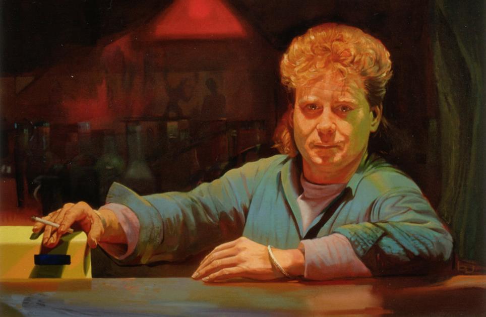 John Anderson - 1988 100x150cm