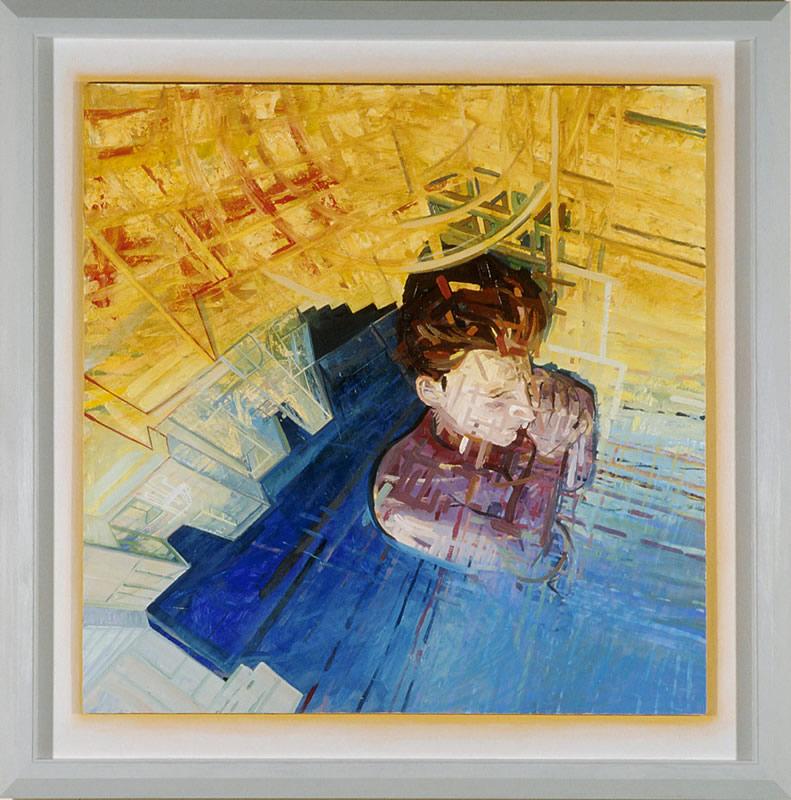A Fall Caught - 95x95cm - 1996