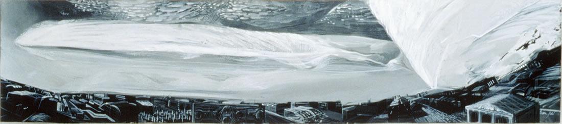 Fugue - 41x100cm - 1989