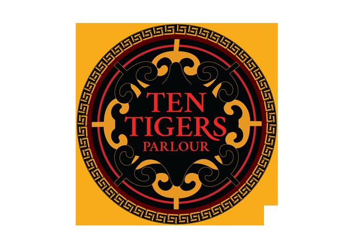 Ten Tiger Parlour Logo