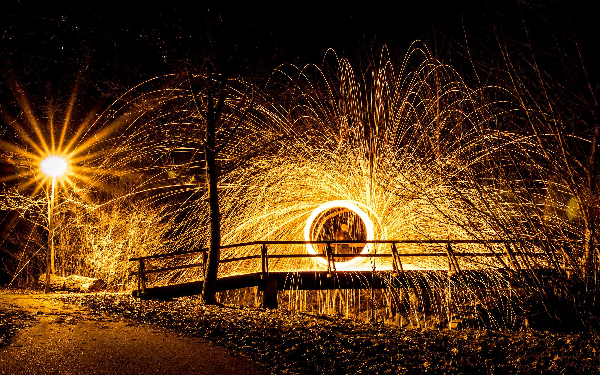 Fotoworkshop Lichtmalerei   Licht kreativ erleben