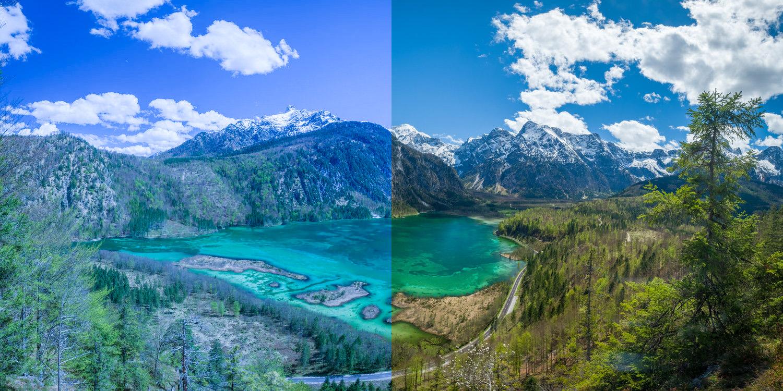 Bildbearbeitung Landschaftsfotografie mit Photoshop + Ligthroom