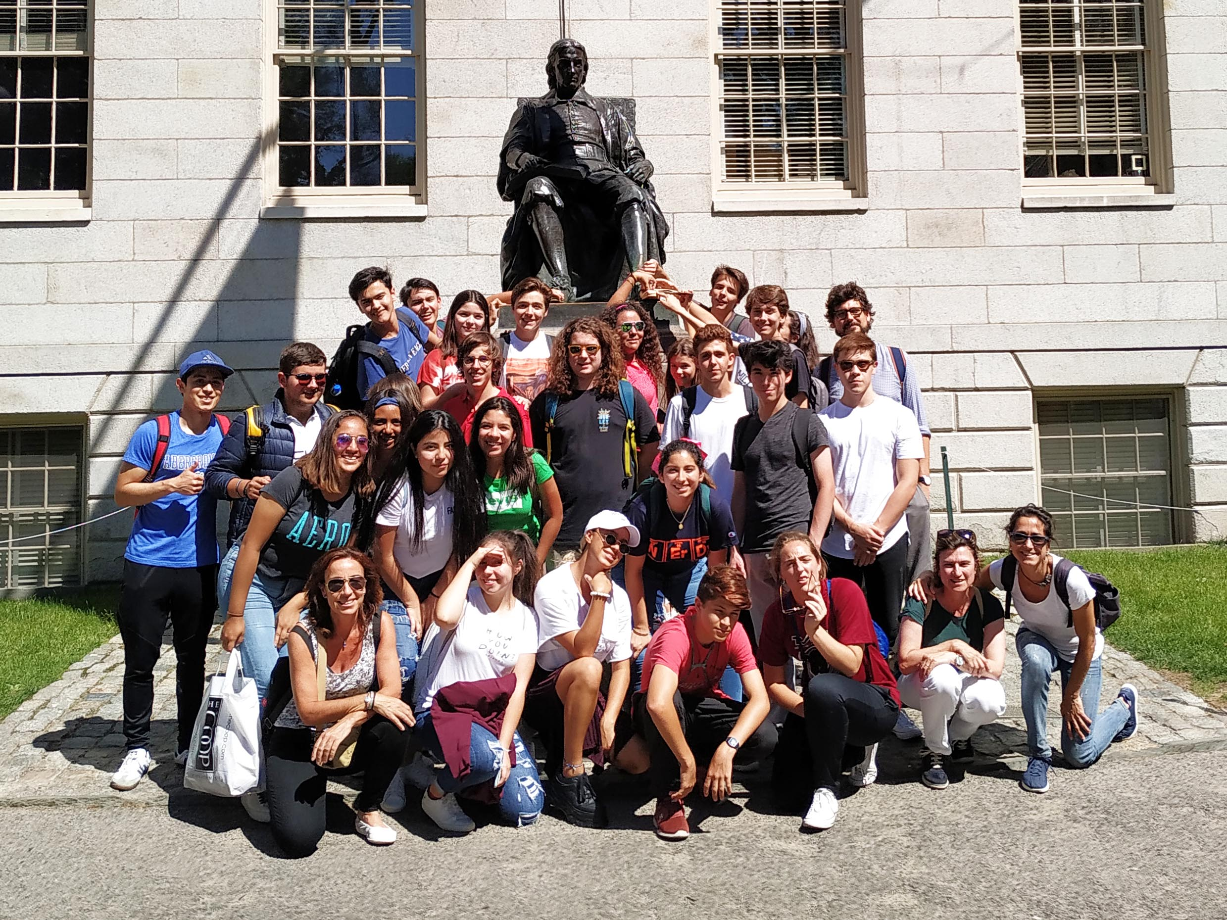 The Innovators visiting Harvard University