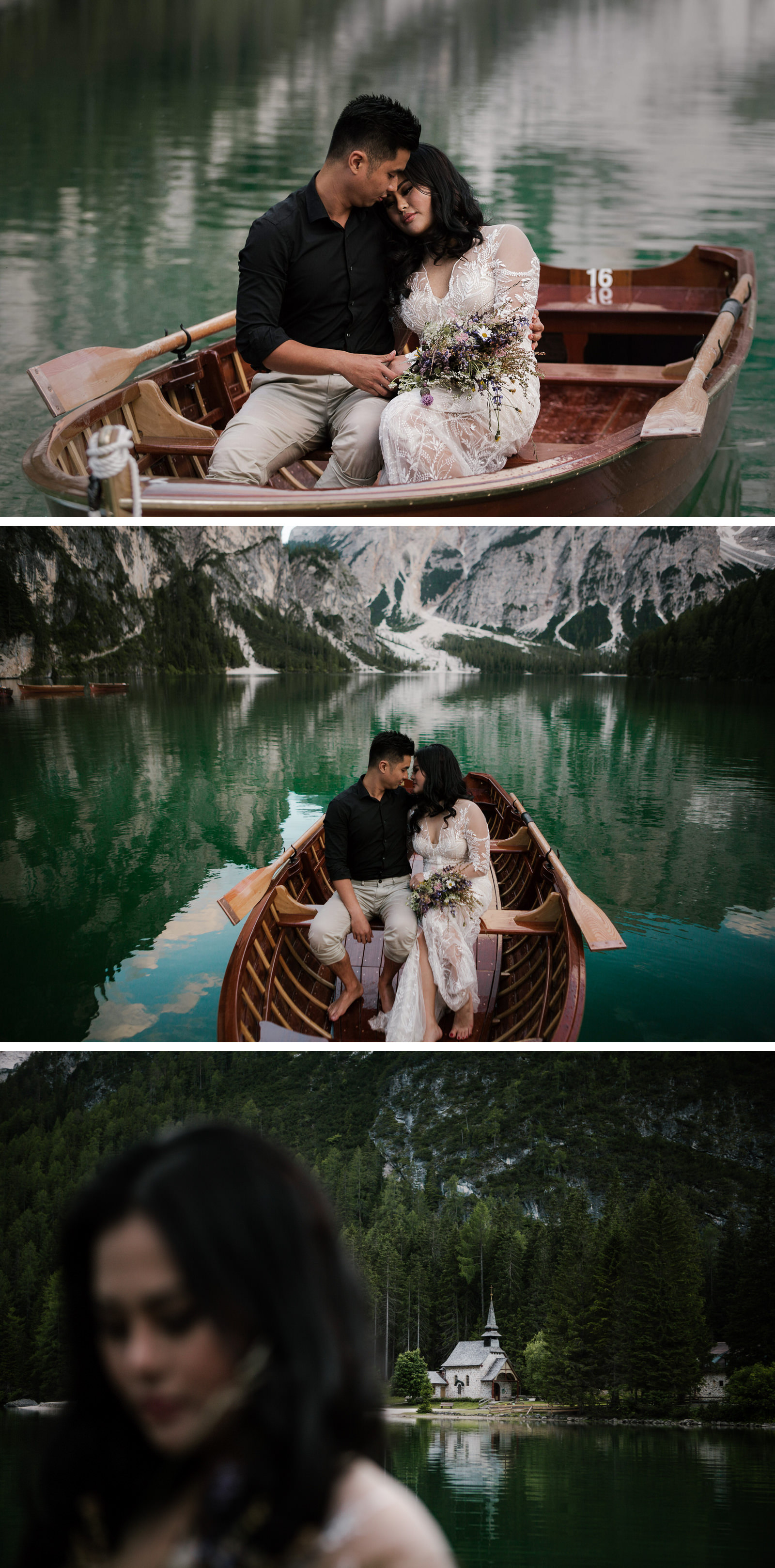 Lago di Braies Dolomites Wedding Shoot Fotomagoria 3.jpg