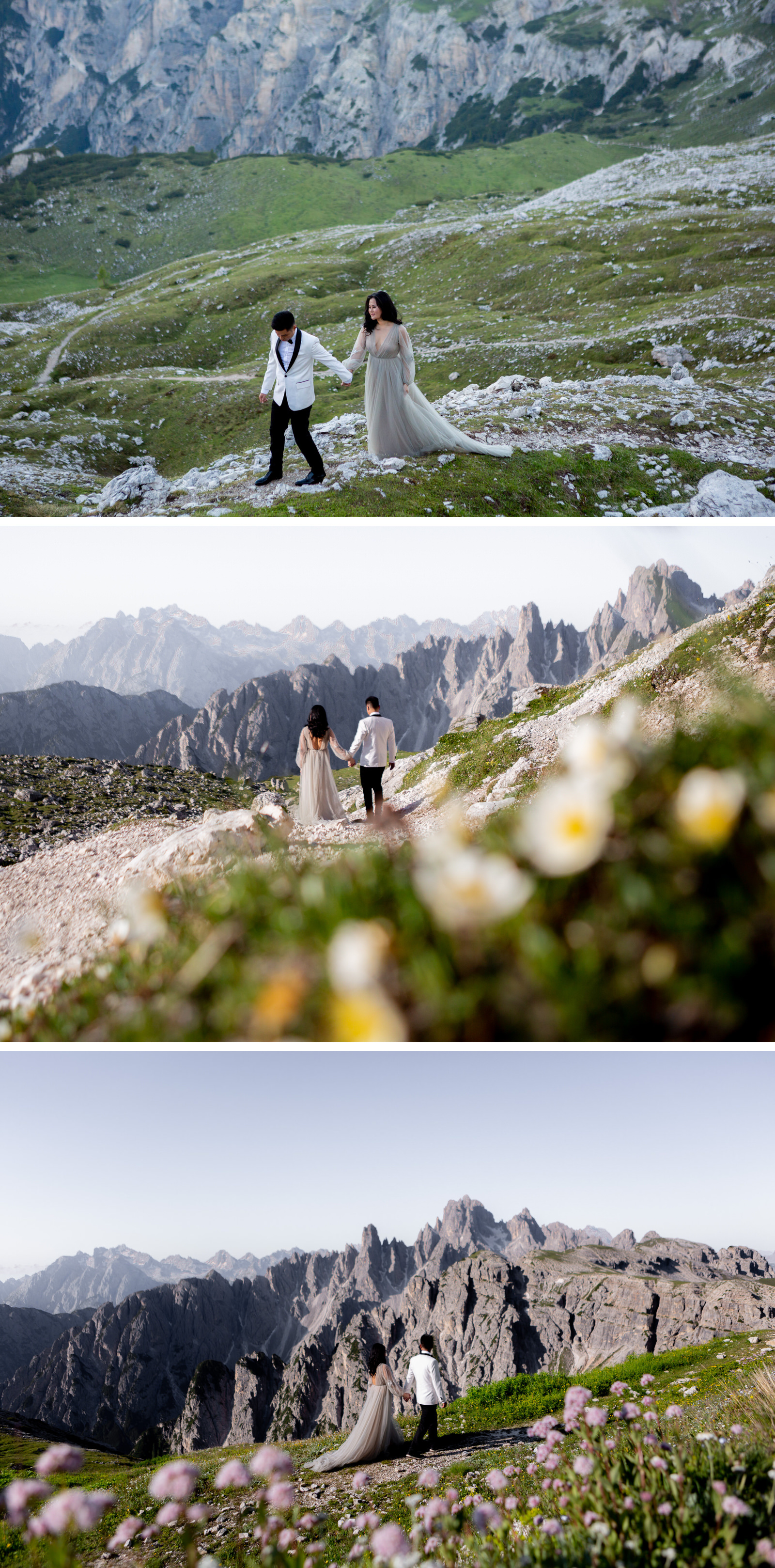 Lago di Braies Dolomites Wedding Shoot Fotomagoria 10.jpg