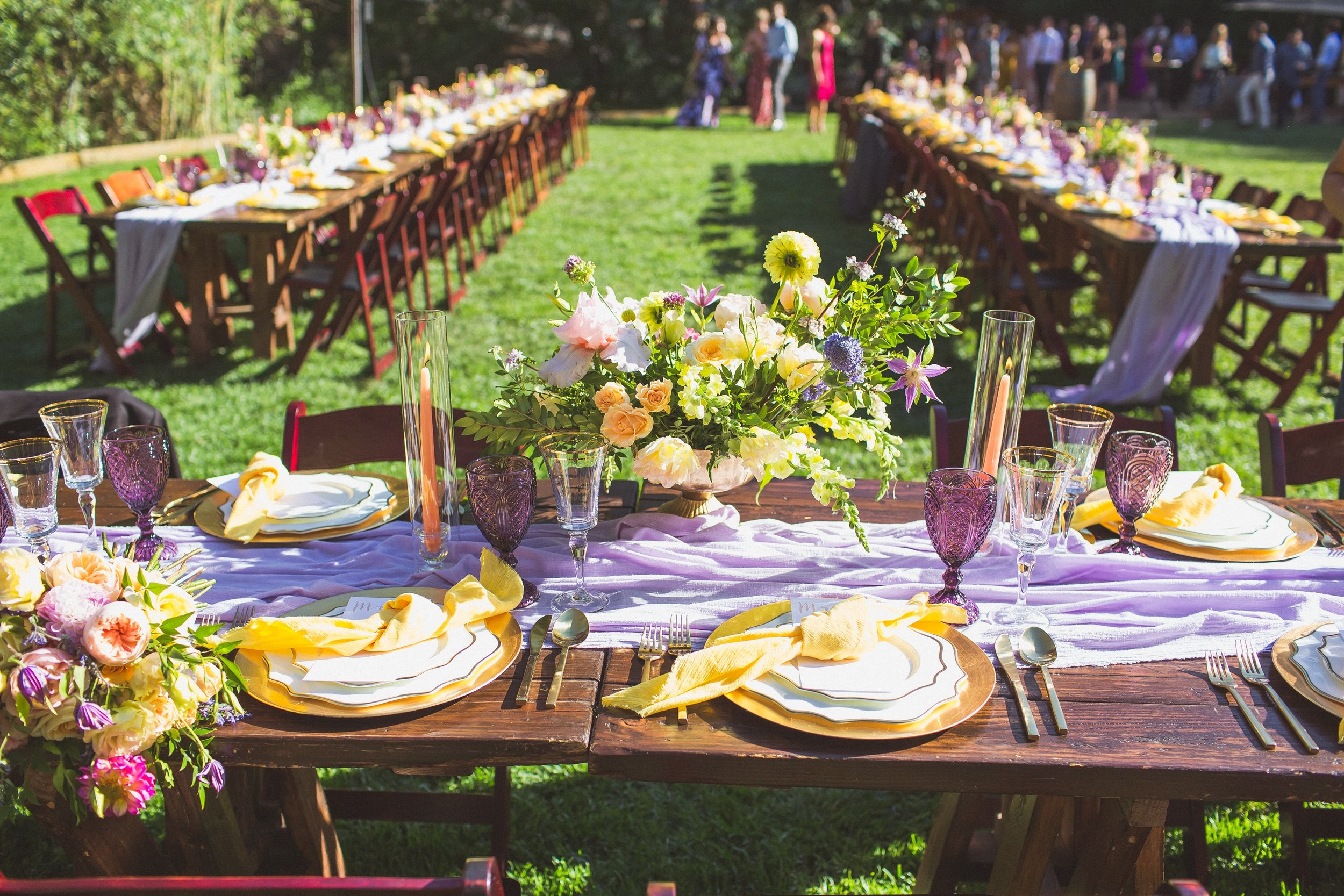 Lilly & James' Head Table