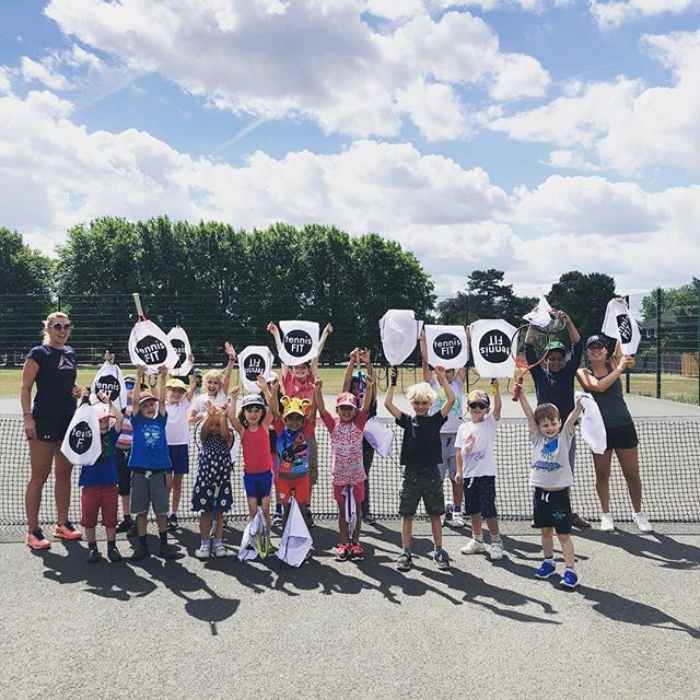 Two amazing weeks of tennis camp is behind and I want to thank everyone for such a great fun we had. Kids worked extremely hard even in the heat and learnt so much. I'm one big proud coach 😍❤️don't forget there is one more week of tennis camp end of August 🎾 💪🏼#tennis #tenniscamp #tenniscoach