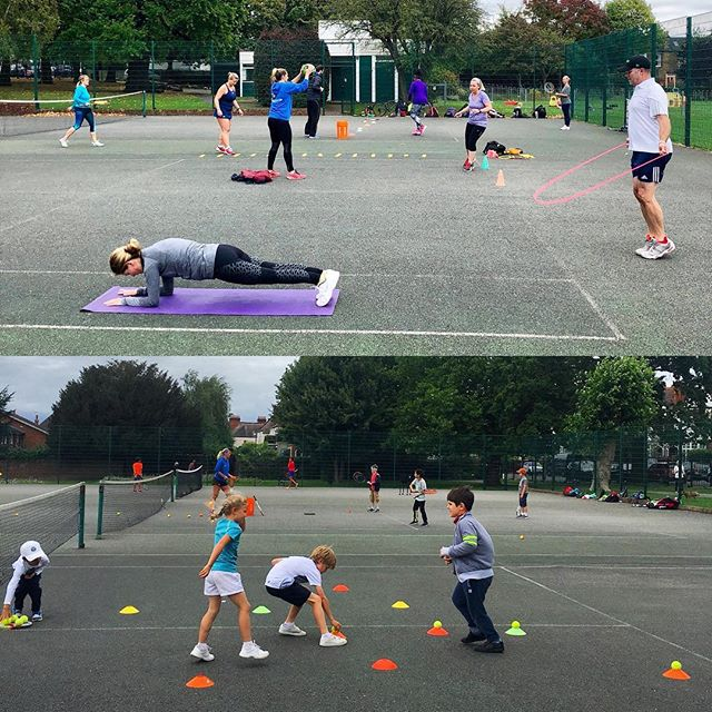 Beat those winter blues⛄️Join us for our all NEW fitness classes for adults and kids 💪 Get fit and improve your game 😅🎾 Classes run Tuesday & Thursdays - book now via our website (🔗 in bio)
