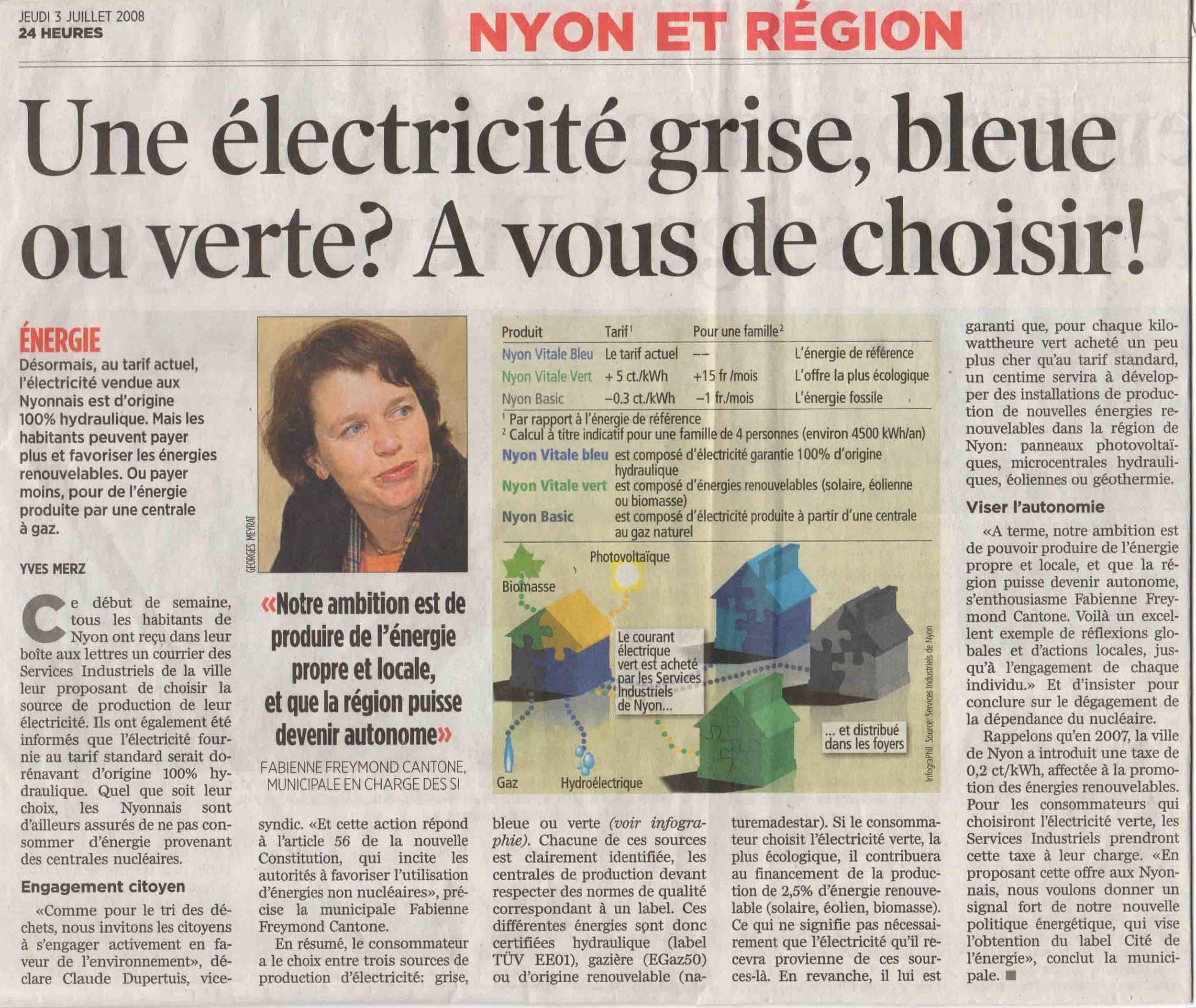 Copy of 2008-07-03 24 Heures - Electricité grise, bleue, verte