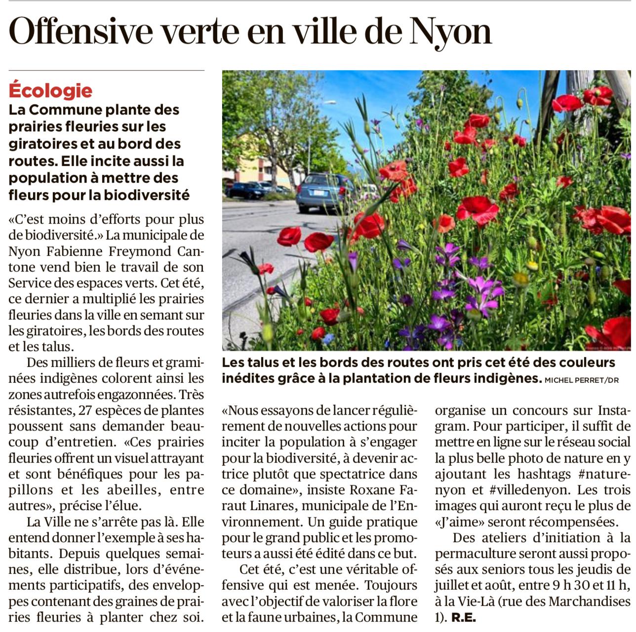 2019-07 - 25 Heures - Offensive verte en ville de Nyon