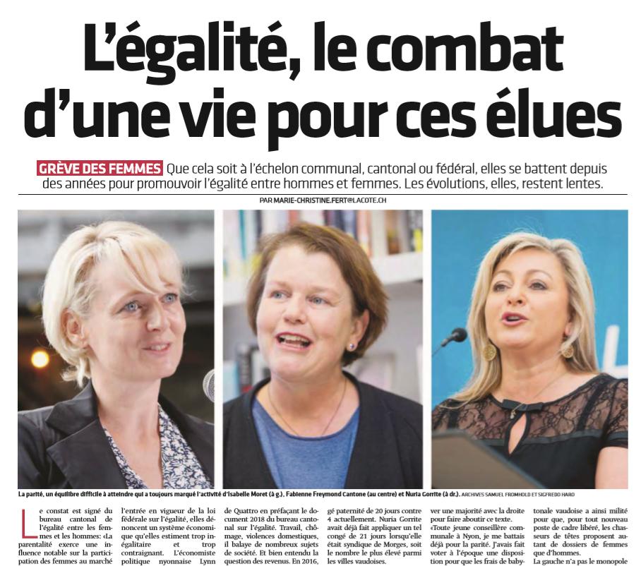 2019-06 La Côte - Egalité