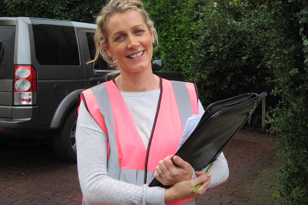 Patricia Power on site in Nenagh | Room to Improve, Series 9