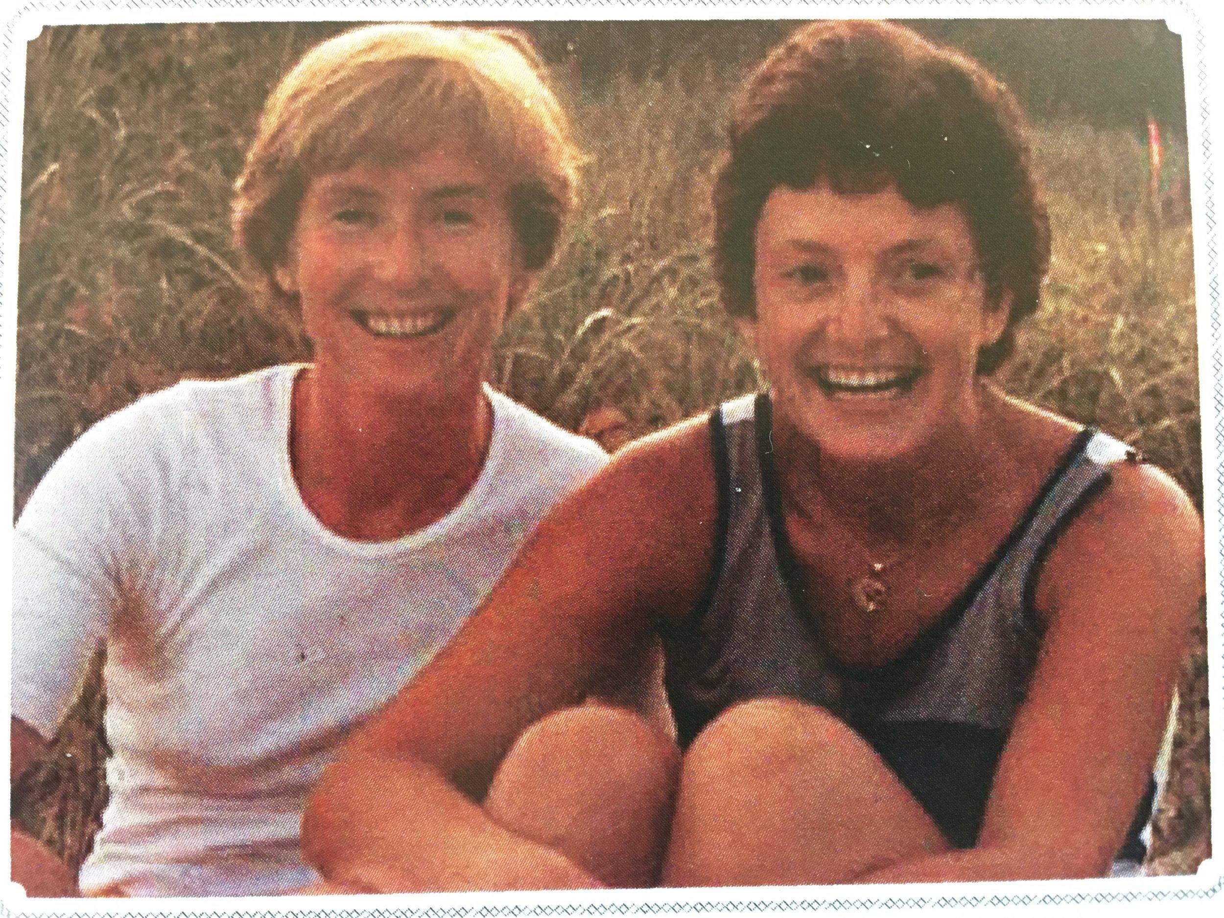Kathereine Zappone  and Ann Louise Gilligan