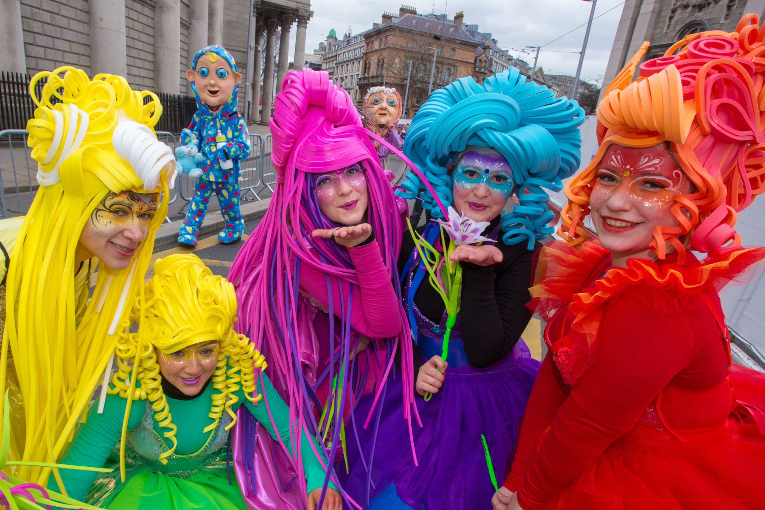 Some of the highlights of  St Patricks Day parade in Dublin. Photo. allenkielyphotography.com