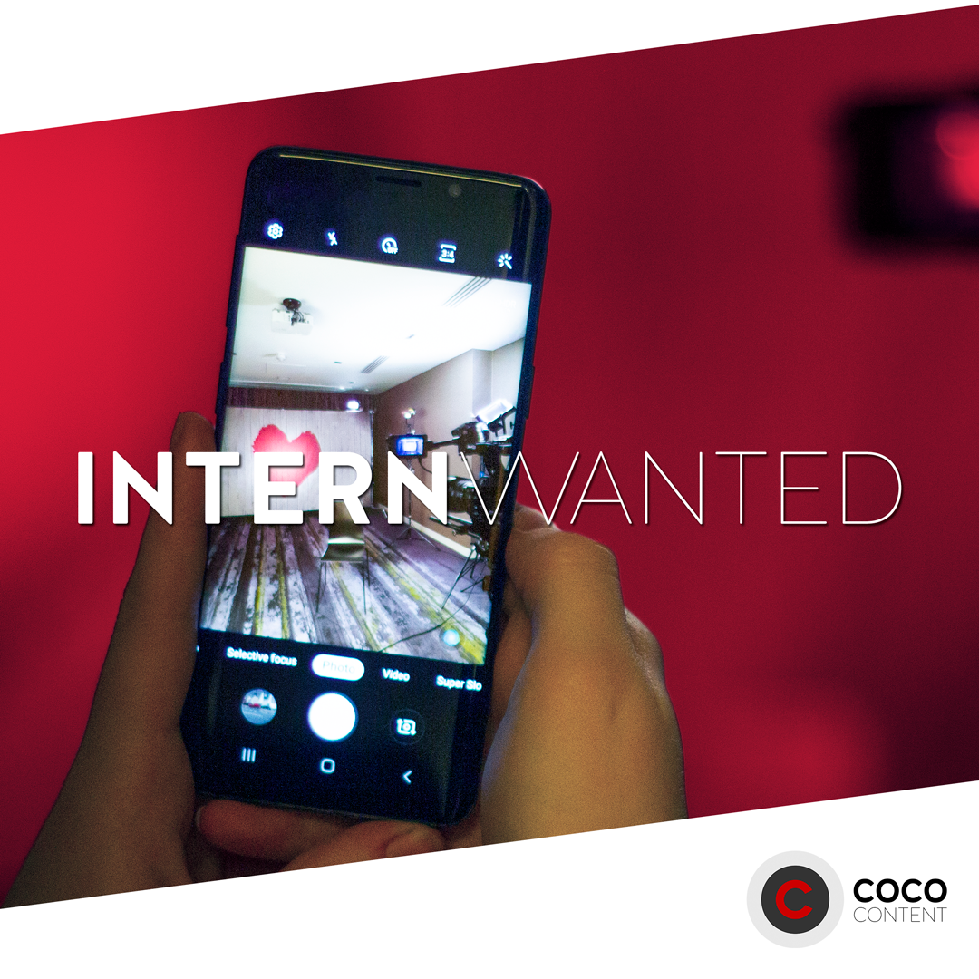 WE'RE HIRING: SOCIAL MEDIA INTERN -