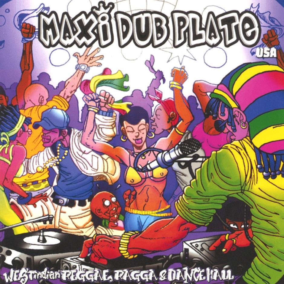 Maxi Dub Plate USA