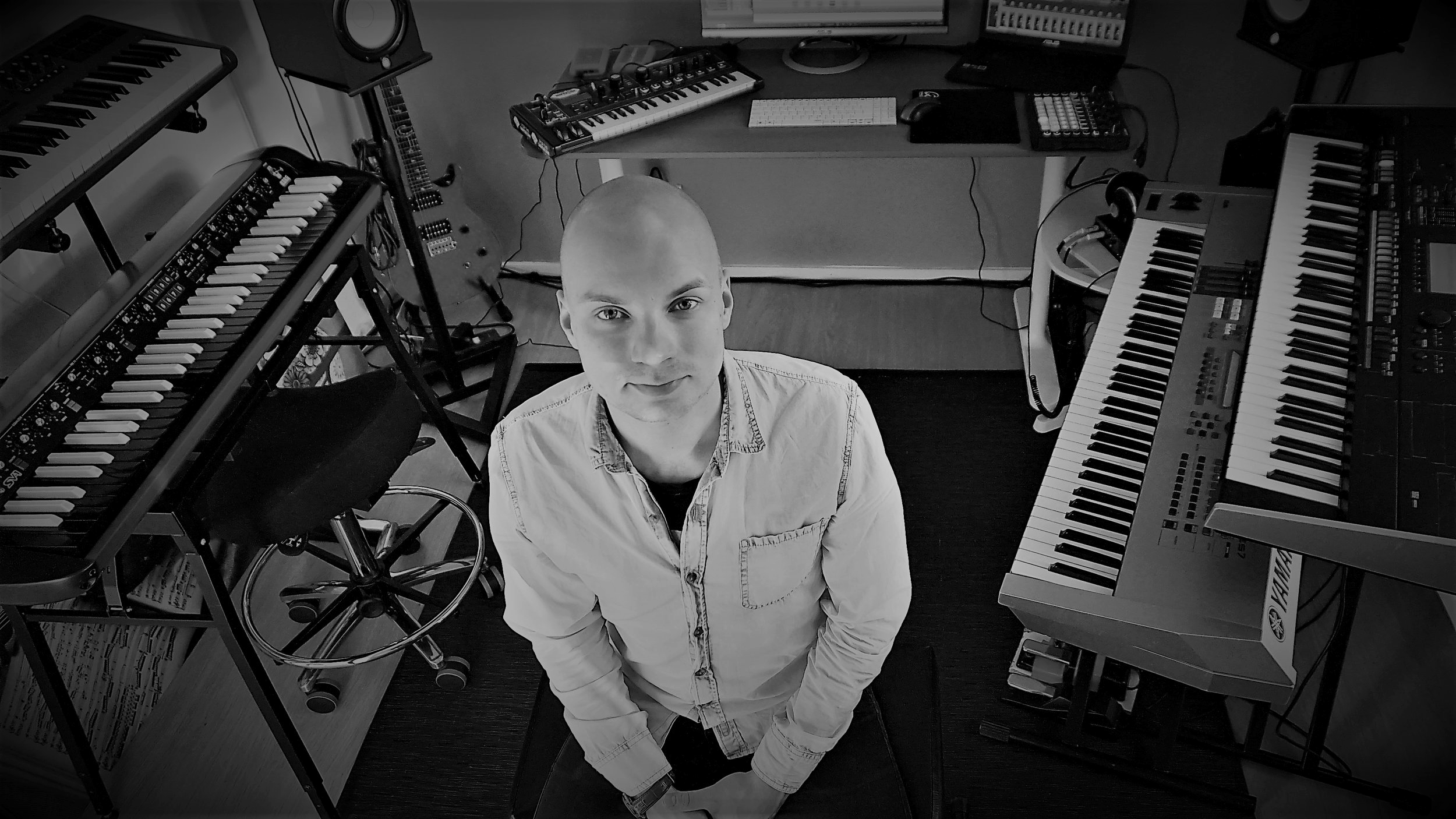 I'M A COMPOSER/MUSICIAN/PRODUCER FROM FINLAND. I HAVE EXPERIENCE OF COMPOSING FOR TV, COMMERCIALS AND OTHER MEDIA. I ALSO COMPOSE FOR BANDS. I'M A KEYBOARDIST IN VARIOUS BANDS AND I ALSO WORK AS A FREELANCE MUSICIAN. SEE MORE FROM MY      CV