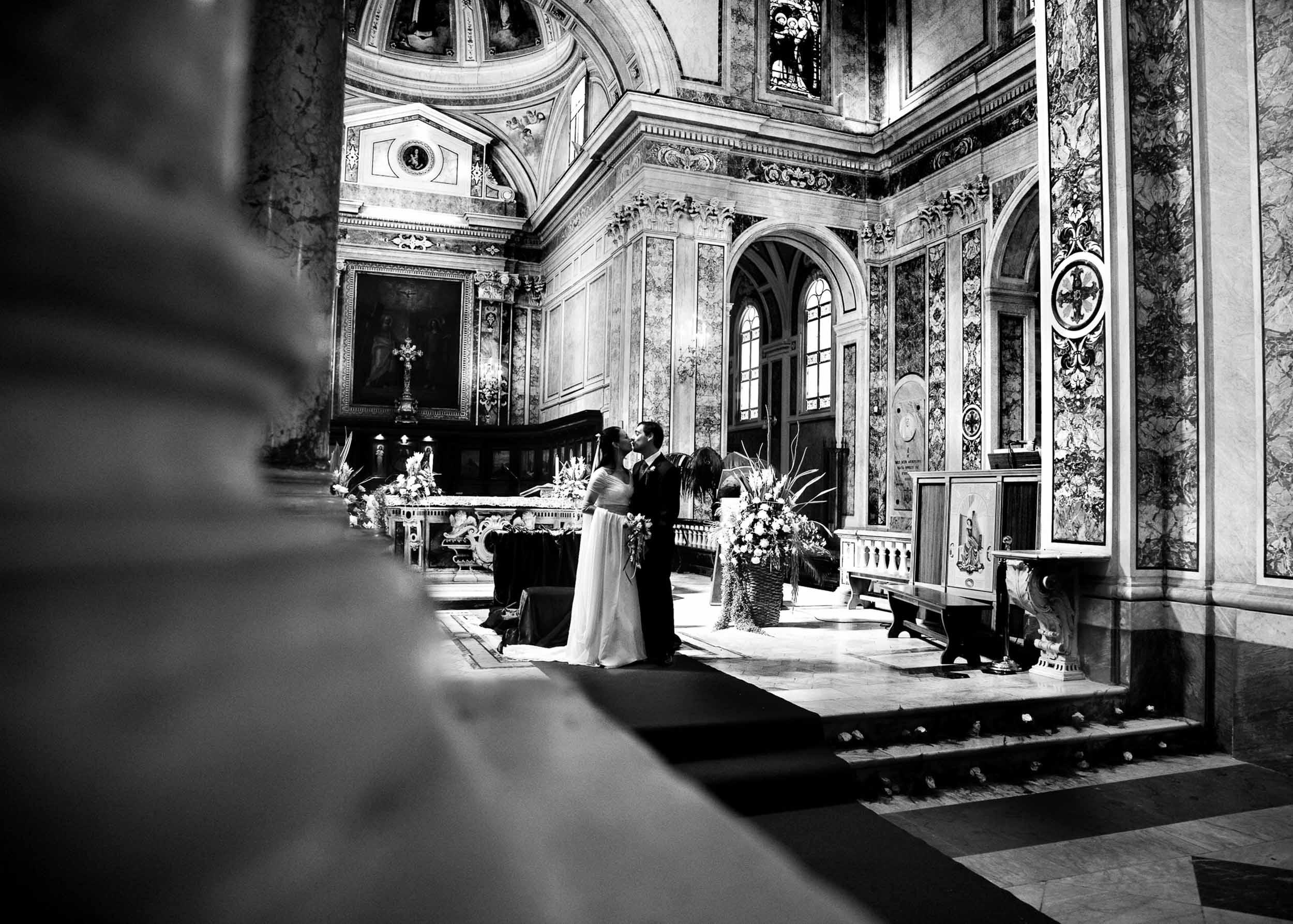 Bride couple in Sorrento