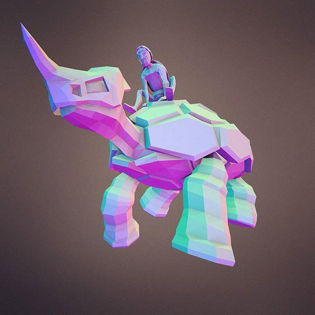 #primalpursuitgame #lowpoly #art #indie #tortoise #gamedev #blender3d #3d