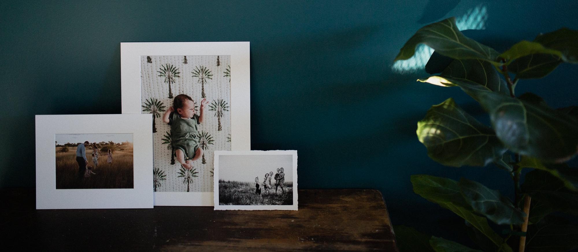 Townsville photographer luxury keepsake print products