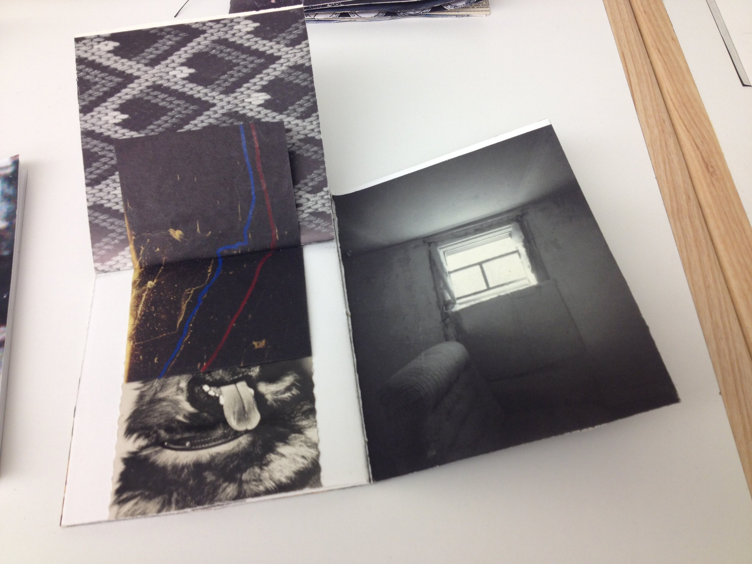 2015 book made for a prompt in Jana Harper's The What and the Why course at the Penland School of Crafts