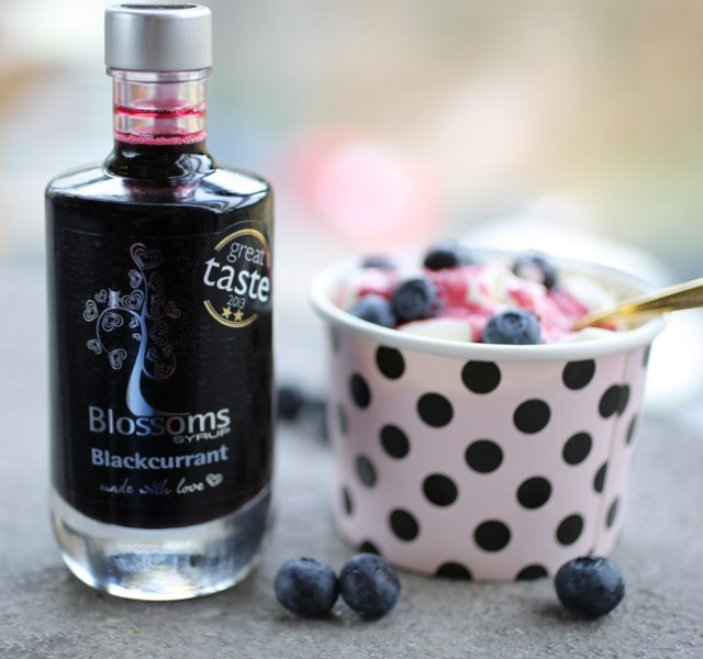 Blossoms Syrup Blackcurrant
