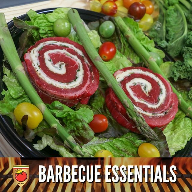 Our store made beef pinwheels are the PERFECT addition to your summer barbecue. Our beef pinwheels are already preseasoned, just throw them on your grill and prepare your side dishes!