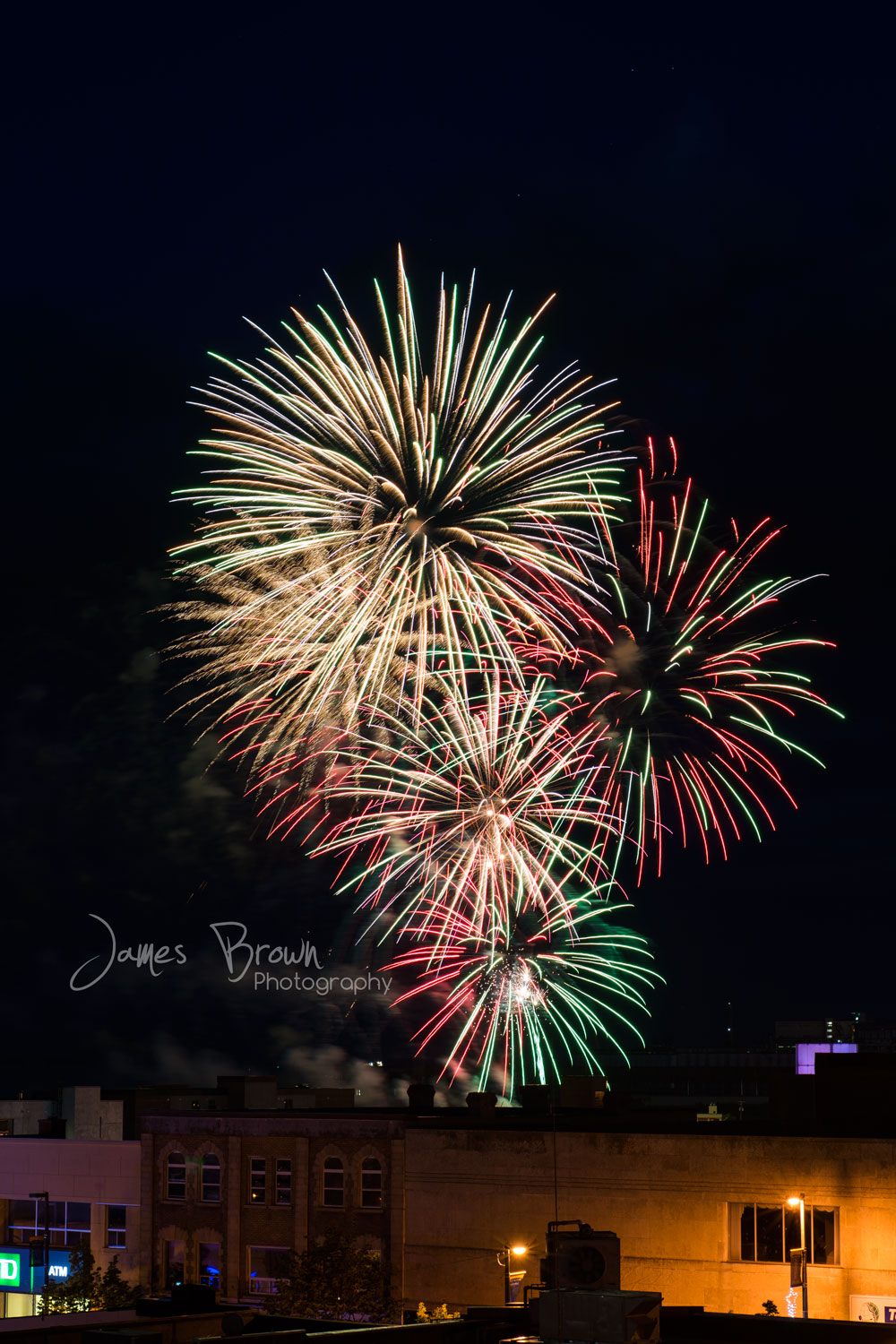 Fireworks Canada Day in Thunder Bay
