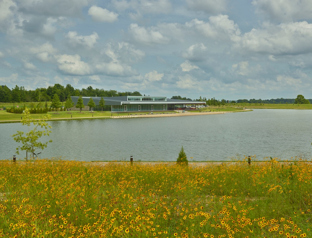 The First Tennessee Foundation Visitors Center at Shelby Farms Park