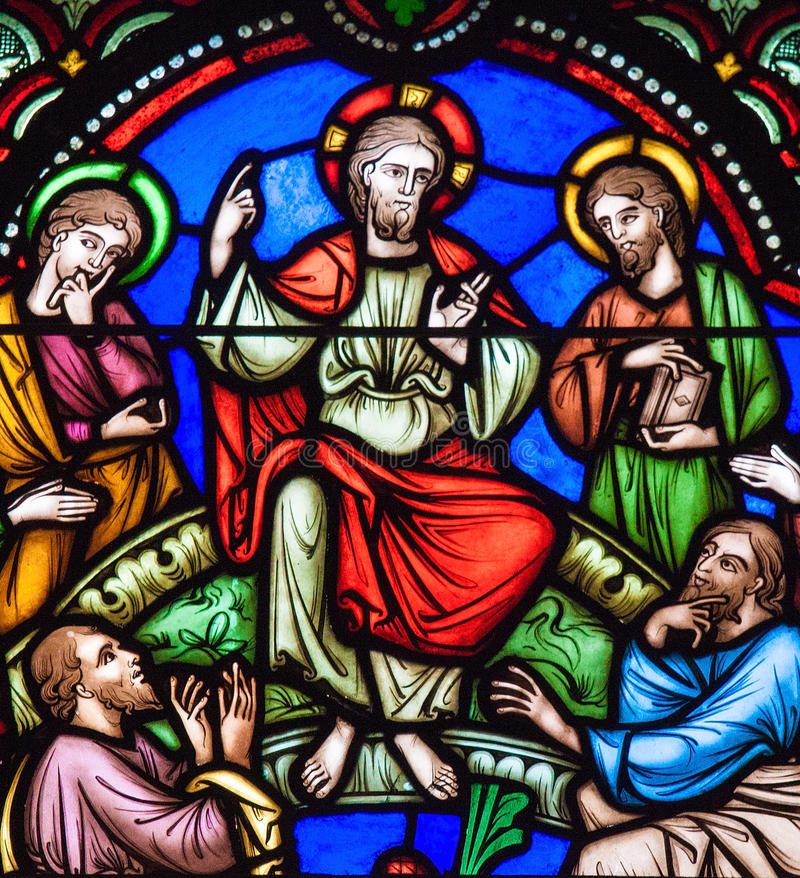 Sermon on the mount, Brussels Cathedral