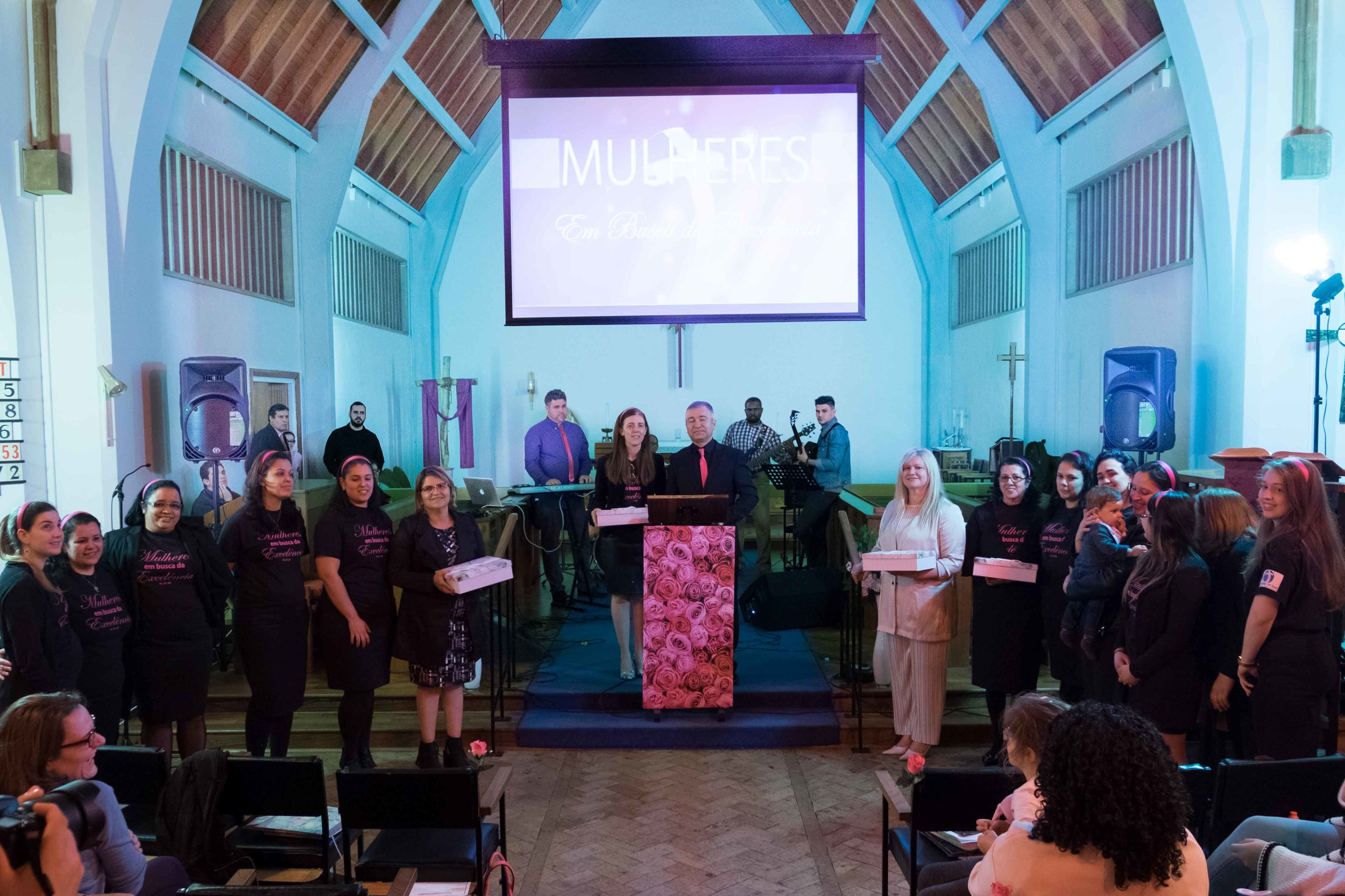 Joint service with the Portuguese Church at their Bognor Regis Church, 2017