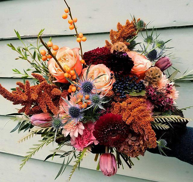 For Hannah...  #bridalbouquet #weddinginspo #weddingflorals #vermontwedding #fallweddings #eastcoastflorist #vermontflorist #newenglandflorist #floral