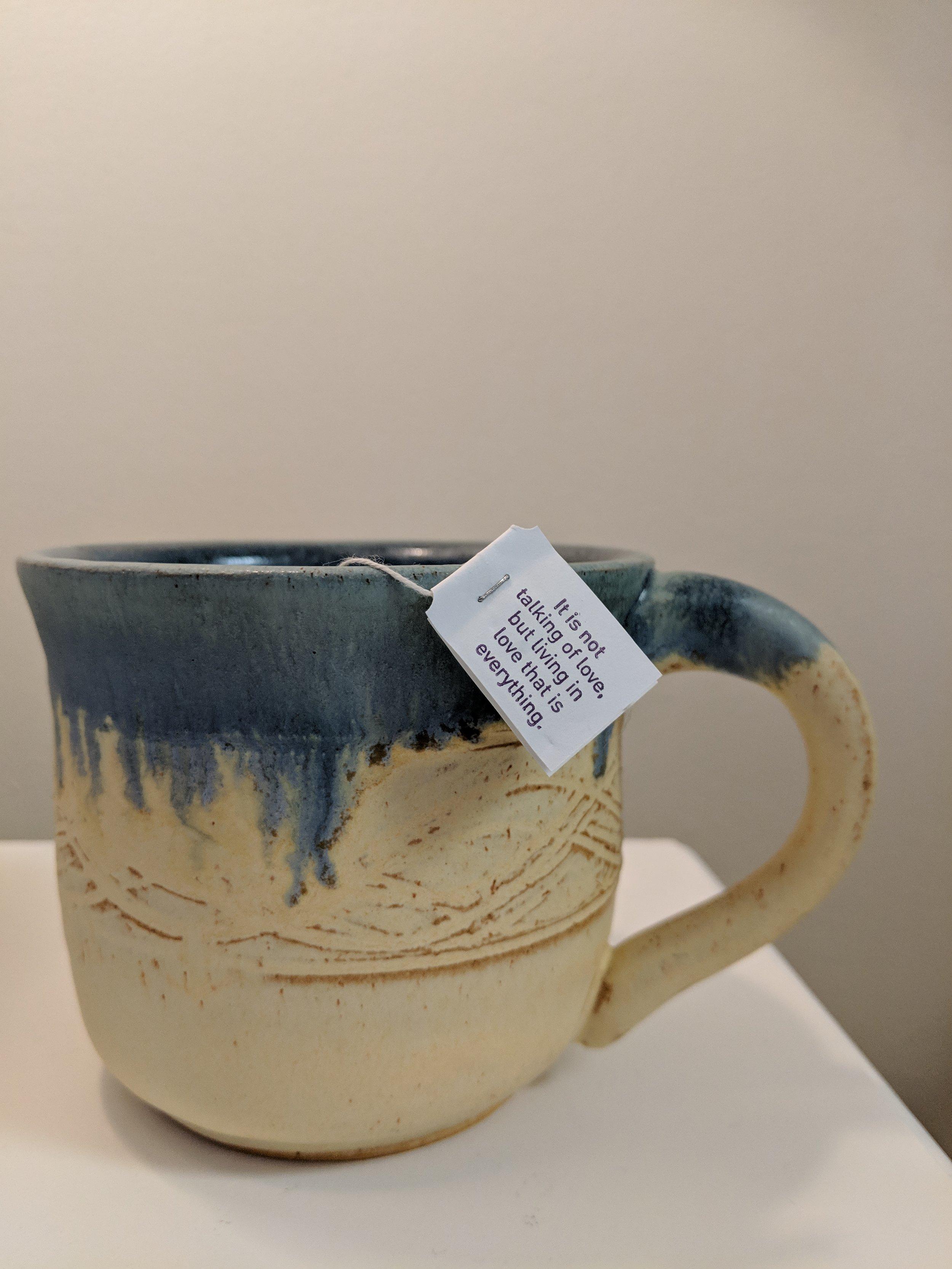 Our beautiful mugs by Susan Gelinas