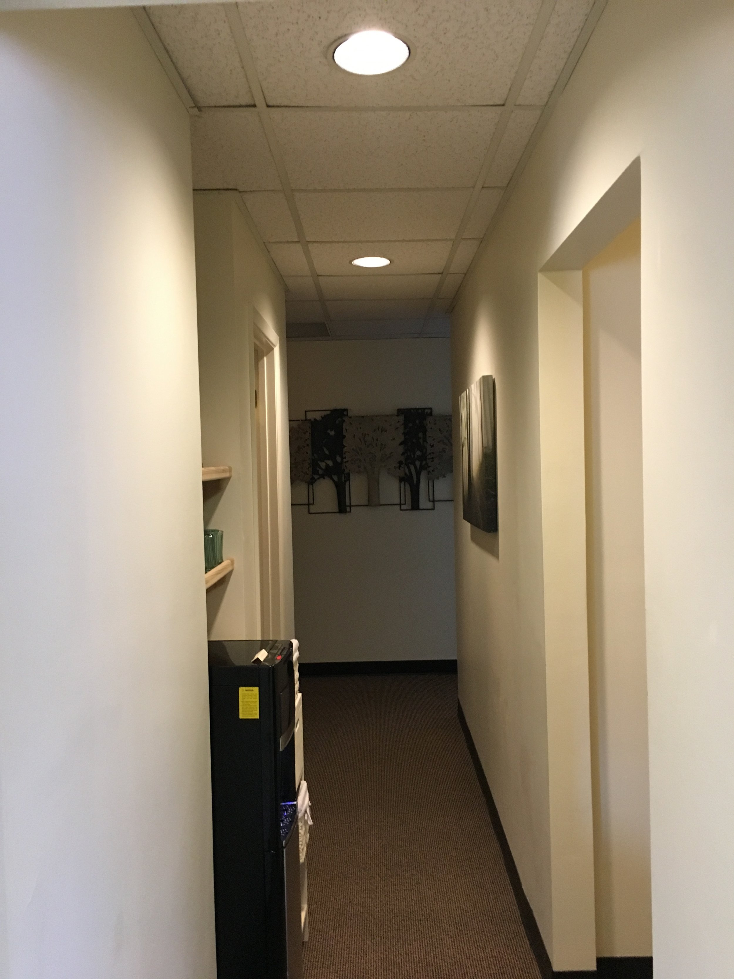Hallway to our Treatment Rooms