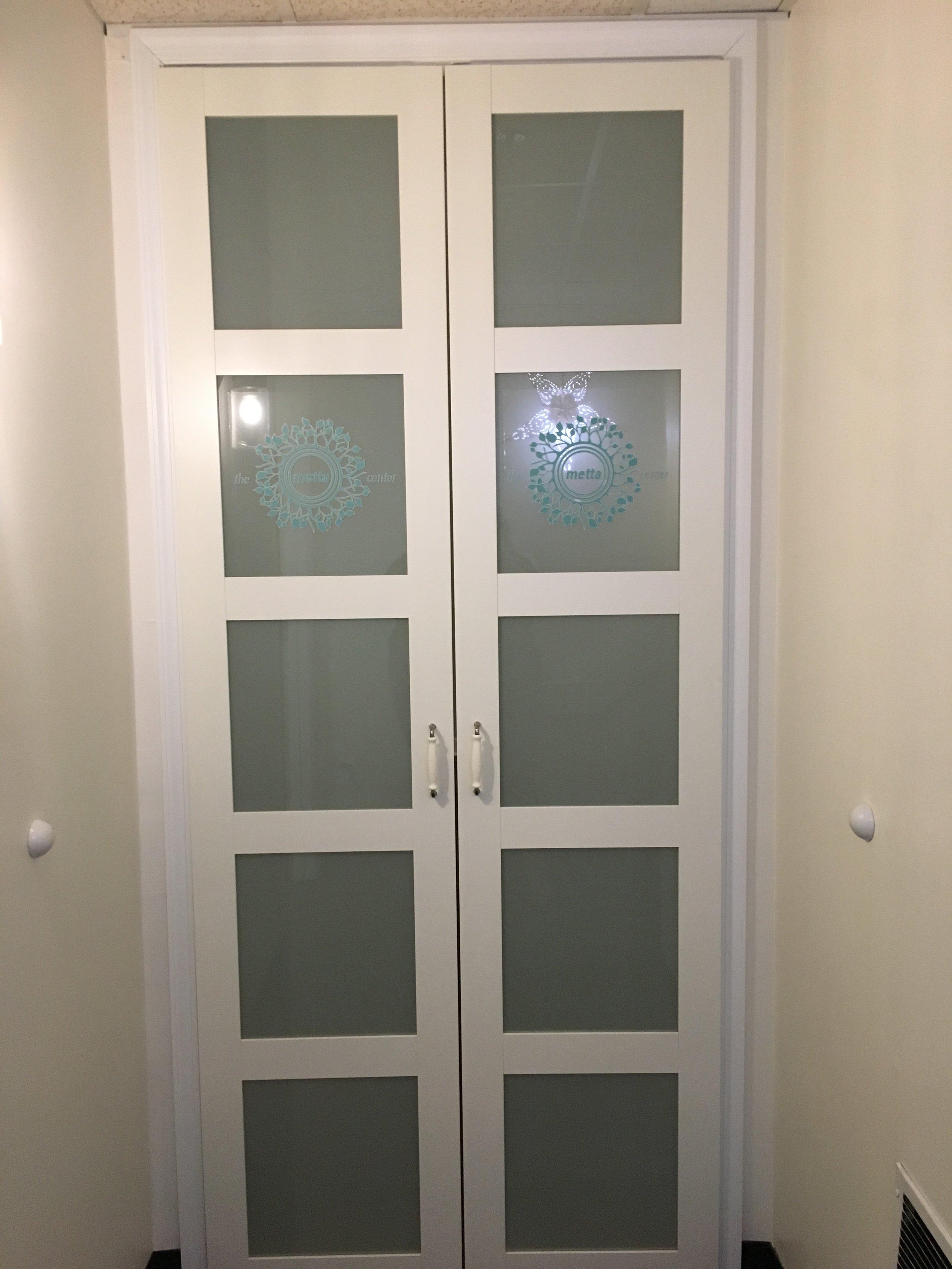 Doors to Our Studio