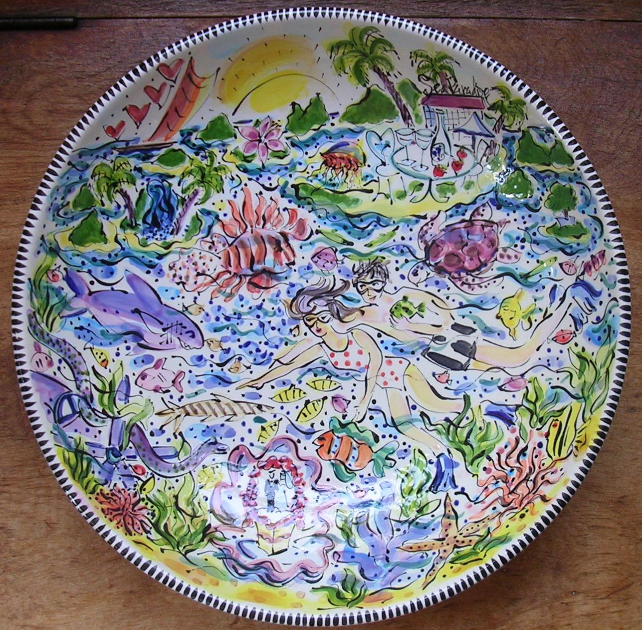 Paradise Honeymoon Bowl