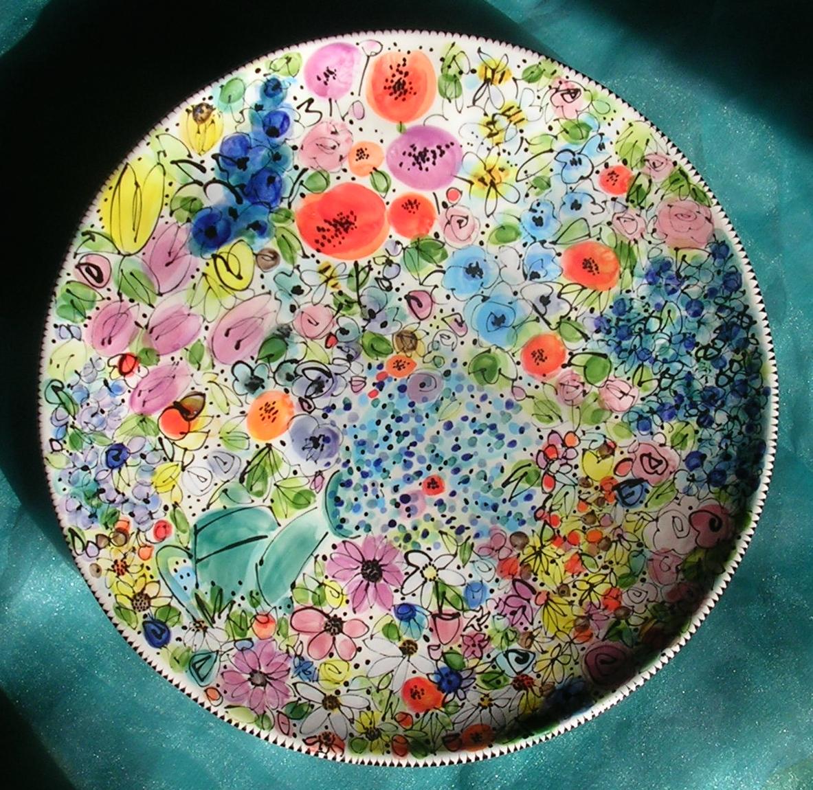 Watering the Garden Platter