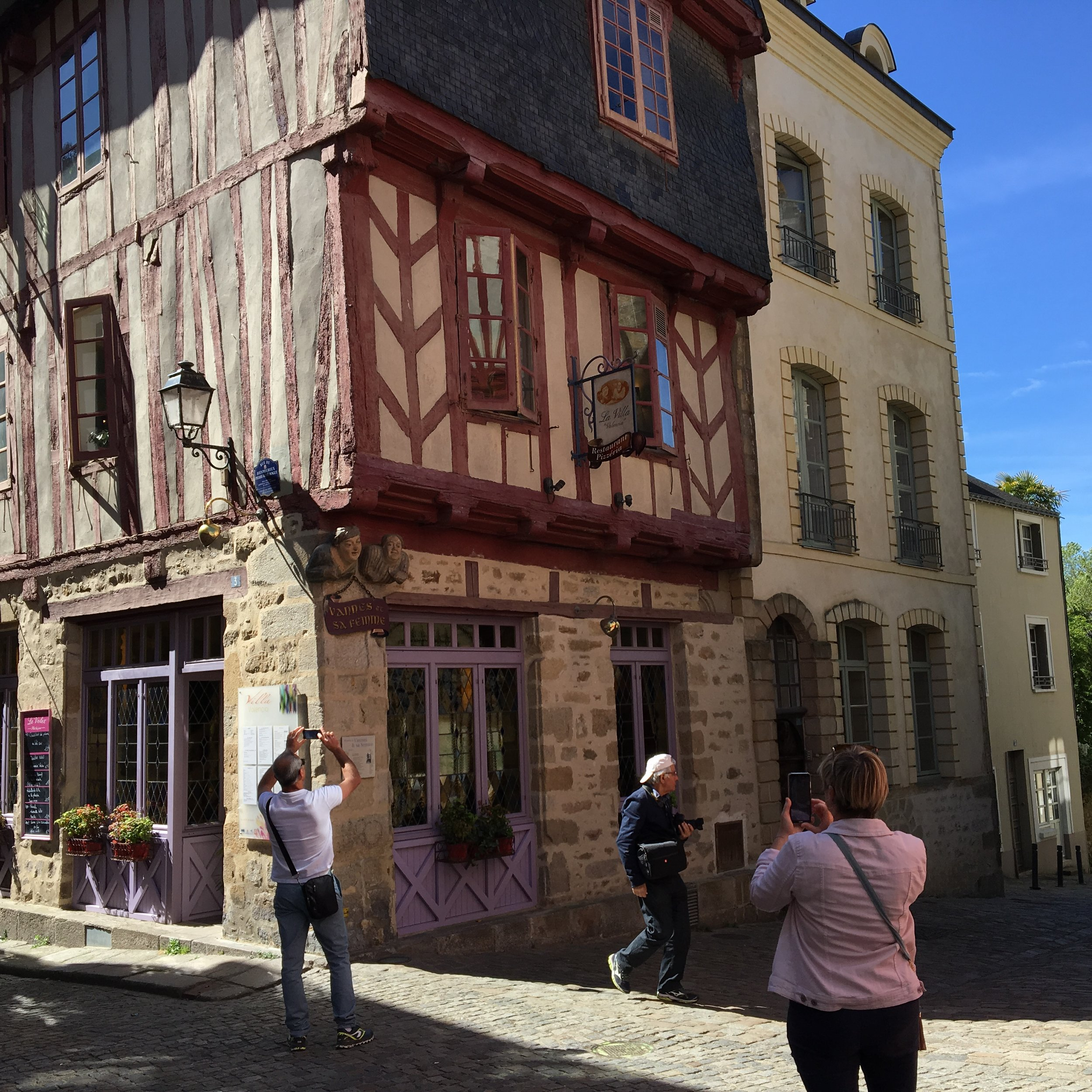 "The biggest tourist attraction ""Vannes et sa Femme"", on my corner….."