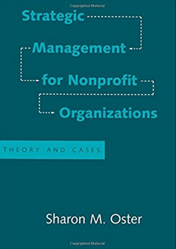 Business - I'm learning from and teaching graduate students about the incredibly diverse nonprofit sector.   Currently, I am reading essential works by longtime strategy professors, such as Dr. Sharon Oster.