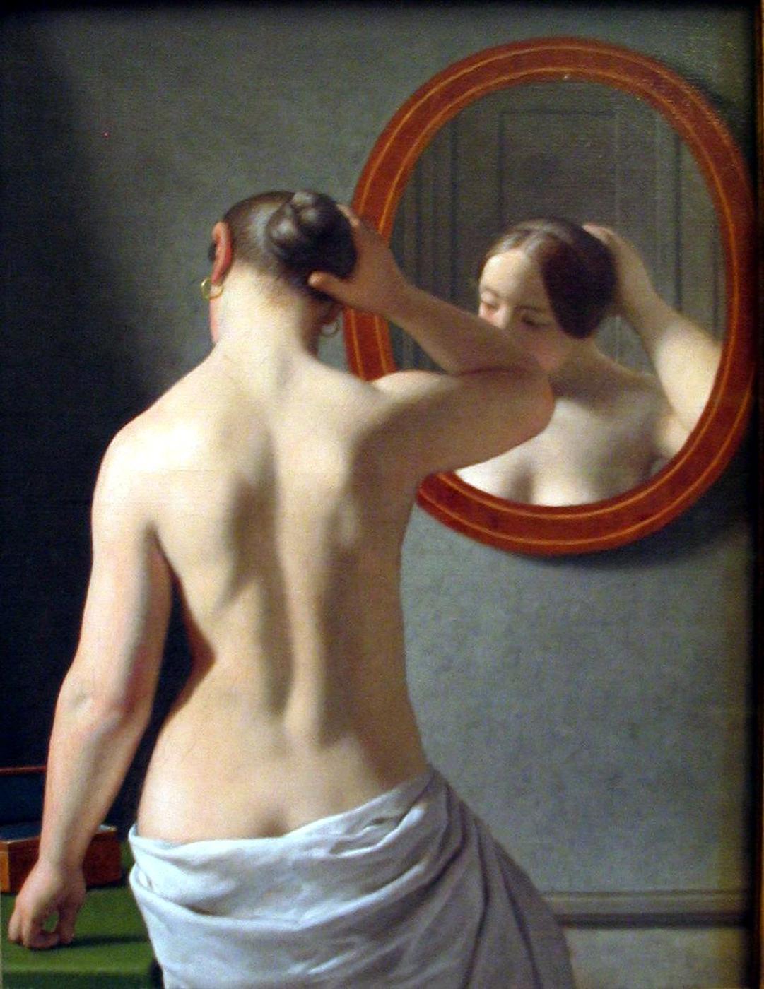 christoffer_wilhelm_eckersberg_3_woman_standing_in_front_of_a_mirror.jpg